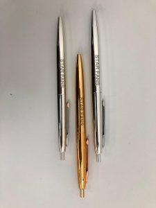 קציר גרף חריטת לייזר על עטים